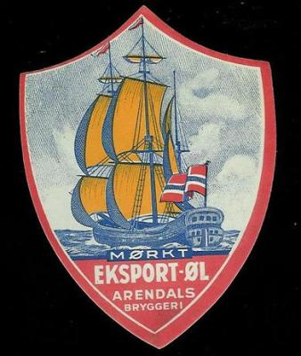 Arendals Bryggeri Mrk eksport
