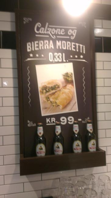 Reklame for Birra Moretti