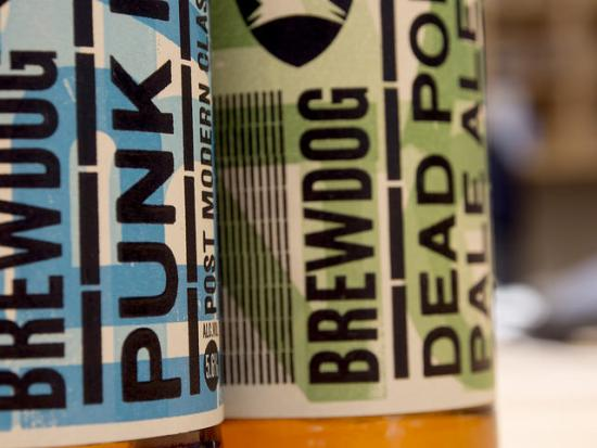 Brewdog bottles