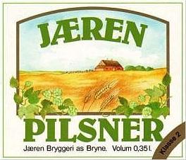 Øletikett, Jæren Pilsner