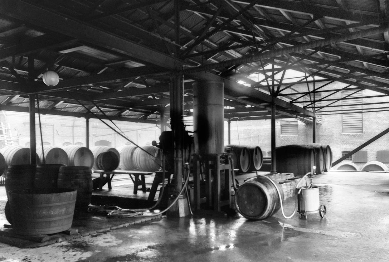 Tønneskylleriet ved Fortune Bryggeri