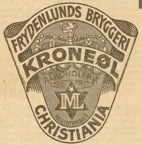 varemerke for frydenlund kroneøl