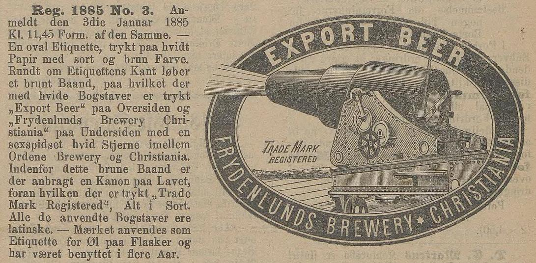 Frydenlunds Export Beer