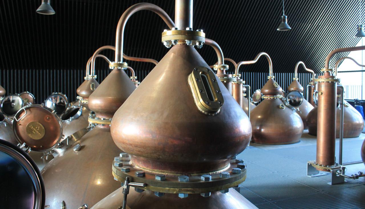 Destillasjonspanner