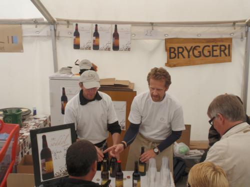 Inderøy gårdsbryggeri på Trondheim matfestival i 2008