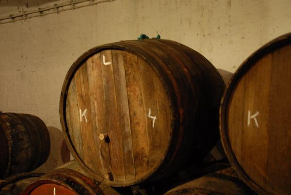 Lambicfat på Cantillon